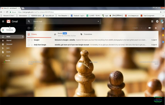 উন্মোচিত হলো জিমেইল(gmail) এর নুতন লুক