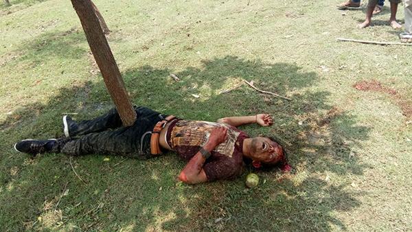দরিমানপুর এলাকায় ব্যালট ছিনতাই ও বোমাবাজির অভিযোগে গণপিটুনিতে গুরুতর জখম দুই