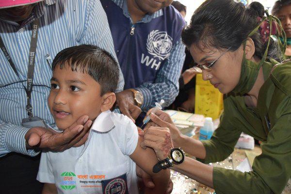 হাম ও কনজেনিটাল রুবেলা সিনড্রোম নির্মূল করতে এবার ভ্যাকসিন দেওয়া হবে উত্তর দিনাজপুর জেলাতেও