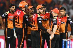 Chennai super Kings-কে ৬ উইকেটে হারিয়ে দিল Sunrisers  Hyderabad।
