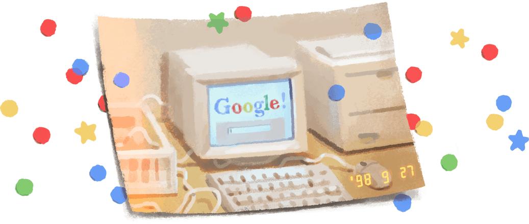Google তার 21 তম জন্মদিনটি একটি ডুডল দিয়ে উদযাপন করে