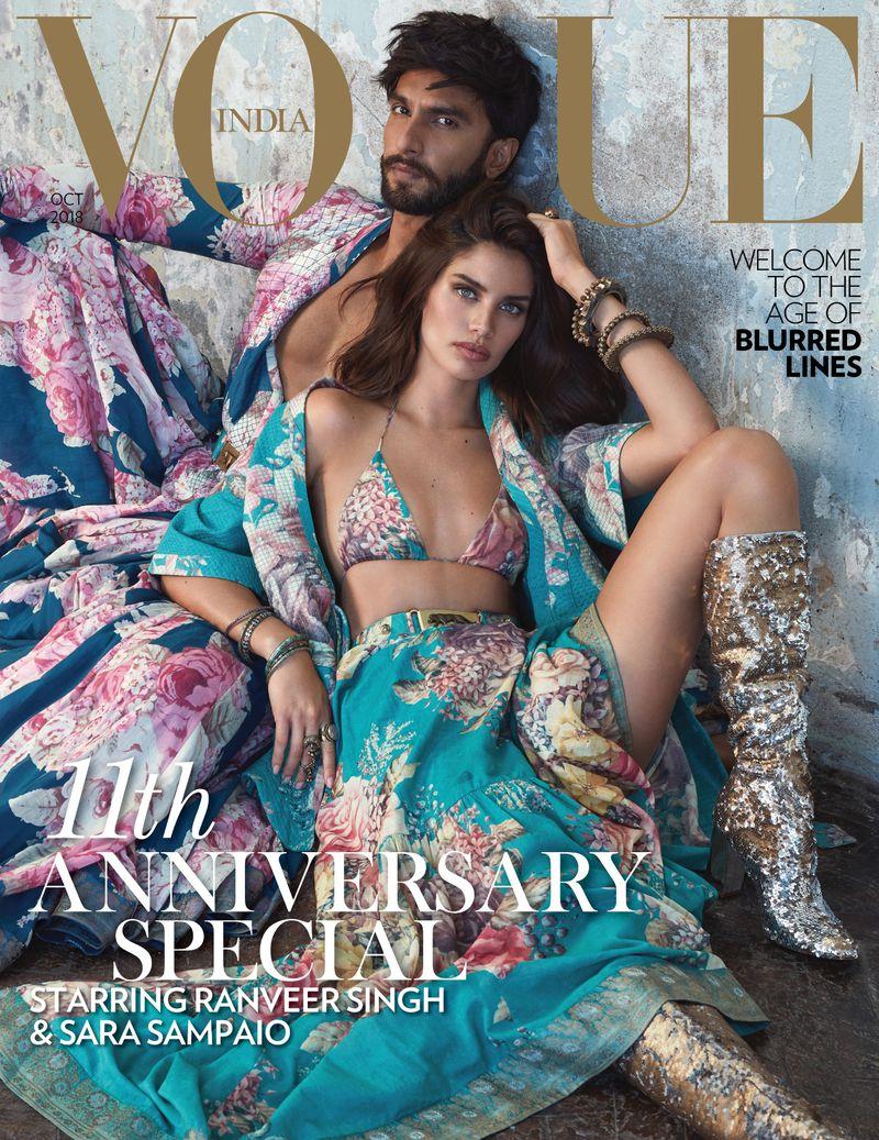 Vogue ইন্ডিয়ার ম্যাগাজিন আজকাল খুব আলোচনায় রয়েছে