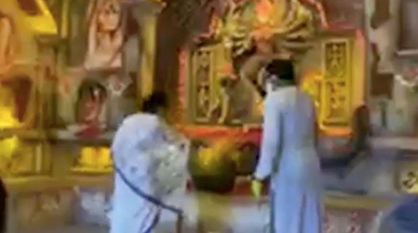 শিব মন্দিরের দুর্গোৎসবের শুভ উদ্বোধন