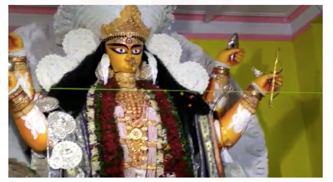 কৃষ্ণনগরের ঐতিহ্যবাহী বুড়িমা'র জগদ্ধাত্রী পুজো