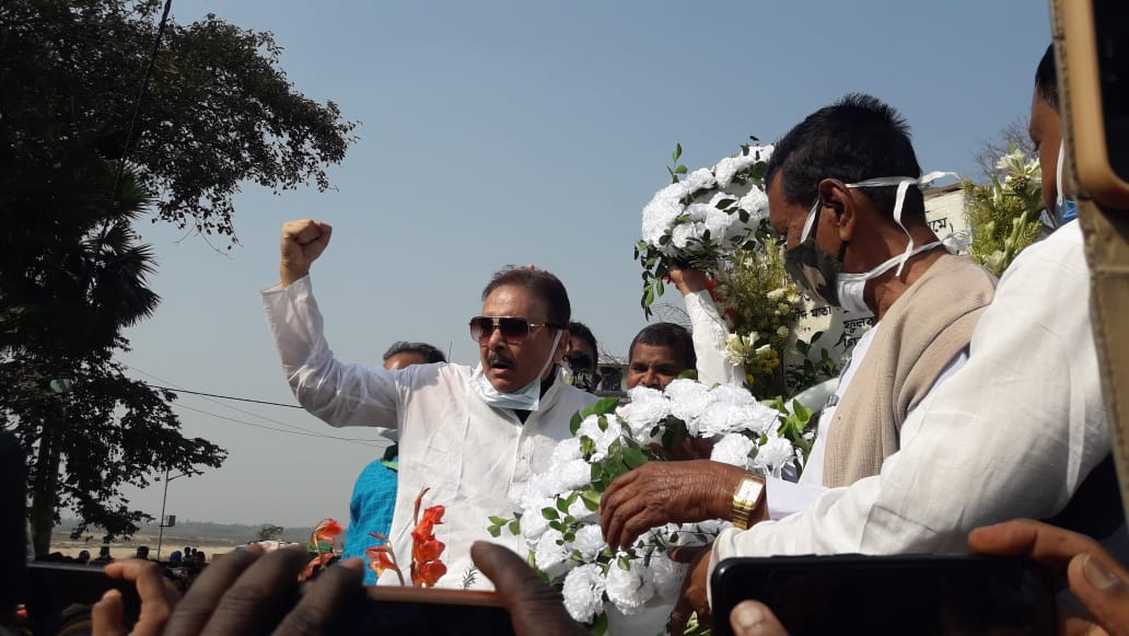 নেতাই শহিদ বেদি গঙ্গাজল দিয়ে; 'পবিত্র' করল তৃণমূল