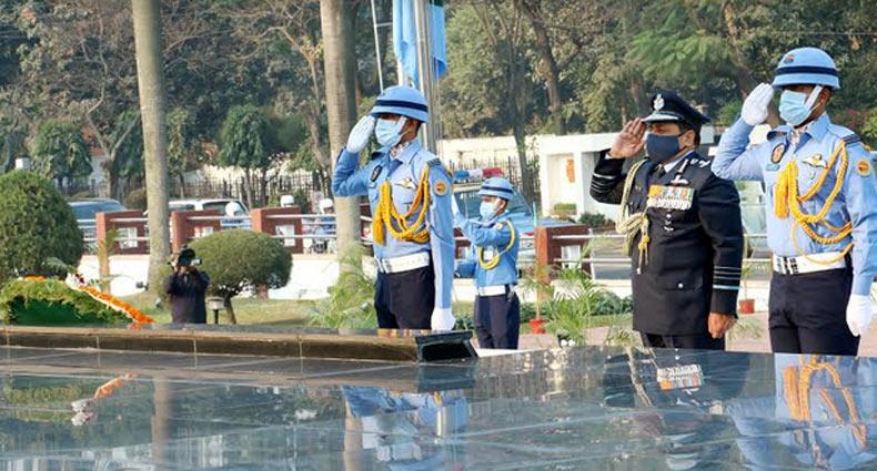 বাংলাদেশে ভারতীয় বিমান বাহিনী প্রধান