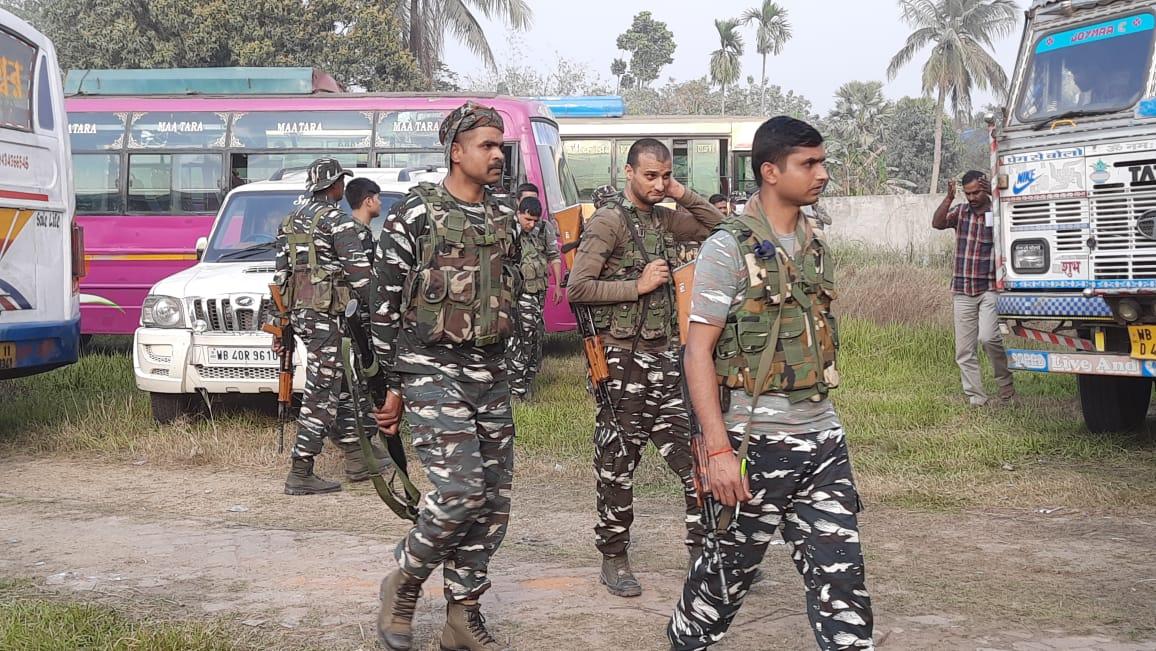 নির্বাচন বিধি জারি হওয়ার আগেই বঙ্গে এলো কেন্দ্রীয় বাহিনী