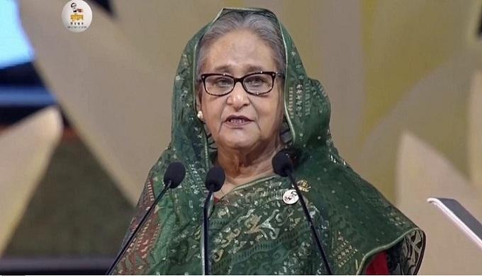 বাধীনতাযুদ্ধে ভারতের সহযোগিতা বাংলাদেশ ভুলবে না: প্রধানমন্ত্রী